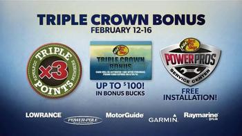 Bass Pro Shops Spring Fishing Classic TV Spot, 'Triple Crown Bonus' - Thumbnail 4