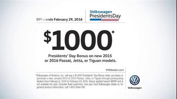 Volkswagen Presidents' Day Event TV Spot, 'Passat' - Thumbnail 7