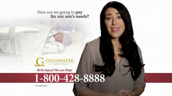 Goldwater Law Firm TV Spot, 'Cerebral Palsy, Brain Damage or Birth Injury' - Thumbnail 3