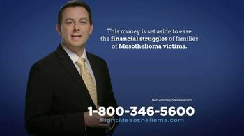 Baron & Budd, P.C. TV Spot, 'Mesothelioma Trust' - Thumbnail 5