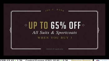 JoS. A. Bank Buy More, Save More Sale TV Spot, 'Stock Up on Suits' - Thumbnail 3