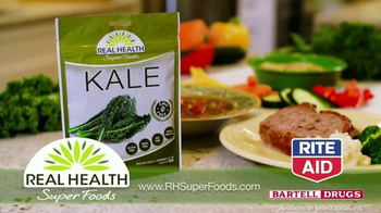 Real Health Superfoods Kale TV Spot, 'Meatloaf, Soups and Pizza' - Thumbnail 10