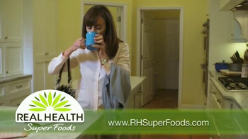 Real Health Superfoods Kale TV Spot, 'Meatloaf, Soups and Pizza' - Thumbnail 2