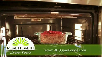Real Health Superfoods Kale TV Spot, 'Meatloaf, Soups and Pizza' - Thumbnail 6