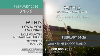 Kenneth Copeland Ministries TV Spot, '2016 KCM Events: February-July' - Thumbnail 4