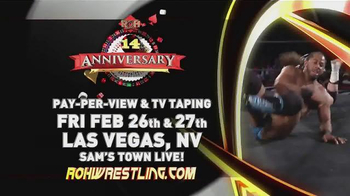 ROH Wrestling TV Spot, 'Live on Tour'