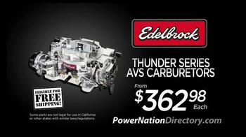 PowerNation Directory TV Spot, 'Gauges, Harnesses and Carburetors - Thumbnail 6