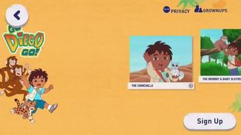 Noggin App TV Spot, 'Go Diego Go, Blue's Clues'