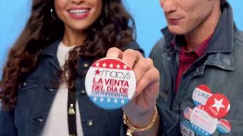 Macy's La Venta del Día de Presidentes TV Spot, 'Pase de Ahorros' [Spanish] - Thumbnail 1