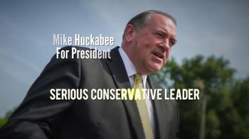 Pursuing America's Greatness TV Spot, 'Serious' Featuring Mike Huckabee - Thumbnail 8