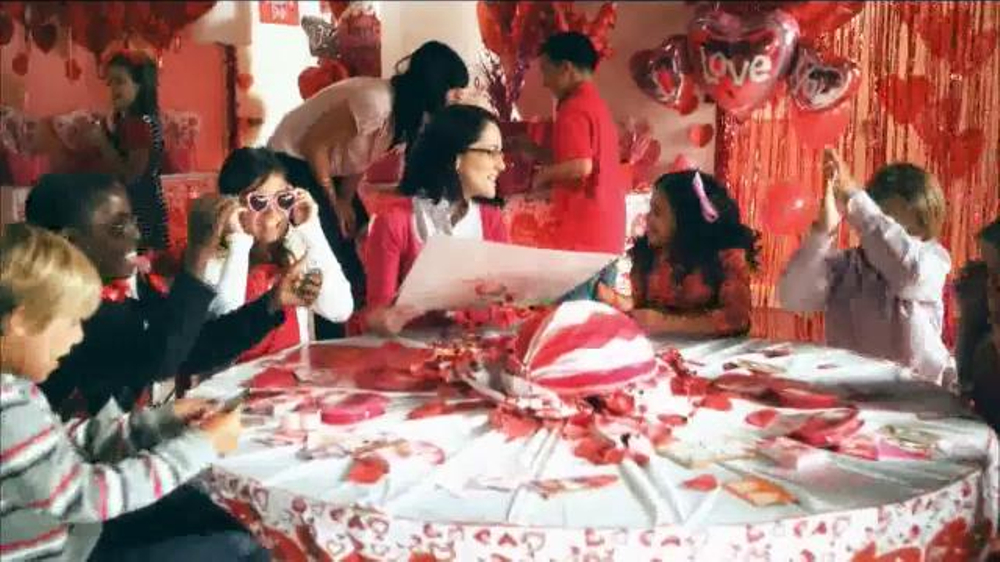 party city tv commercial valentines day favors ispottv