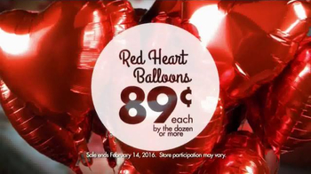 Party City Red Heart Balloons TV Spot, 'That Special Someone' - Thumbnail 6