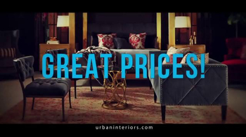 Urban Interiors & Thomasville Presidents' Day Sale TV Spot, 'Furniture' - Thumbnail 4