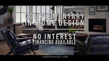 Urban Interiors & Thomasville Presidents' Day Sale TV Spot, 'Furniture' - Thumbnail 5
