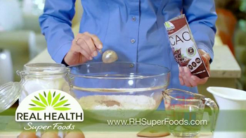 Real Health Superfoods Cacao TV Spot, 'Superfood Nutrition' - Thumbnail 4
