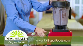 Real Health Superfoods Cacao TV Spot, 'Superfood Nutrition' - Thumbnail 6