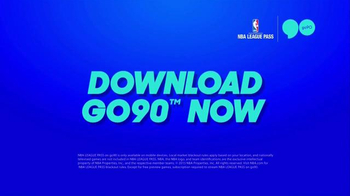 Go90 TV Spot, 'NBA League Pass' - Thumbnail 7