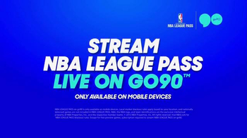 Go90 TV Spot, 'NBA League Pass' - Thumbnail 6