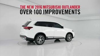 2016 Mitsubishi Outlander TV Spot, 'Looks Good From Every Angle ' - Thumbnail 6