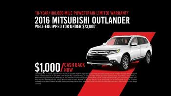 2016 Mitsubishi Outlander TV Spot, 'Looks Good From Every Angle ' - Thumbnail 8