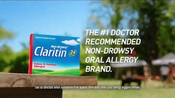 Claritin TV Spot, 'Claritin Clear' - Thumbnail 9