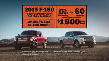 Ford F-Series TV Spot, 'America's Best Selling Truck' - Thumbnail 7