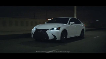 2016 Lexus GS TV Spot, 'Take Control' - Thumbnail 9