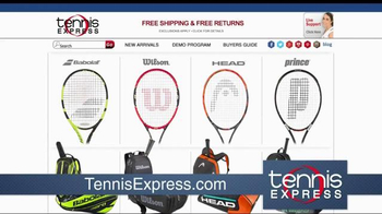 Tennis Express TV Spot, 'Fire Up'