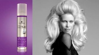 Styliste Ultime Biotin Volume TV Spot, 'Whole Day' Ft. Claudia Schiffer