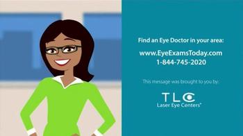 TLC Vision TV Spot, 'Eye Exams' - Thumbnail 8