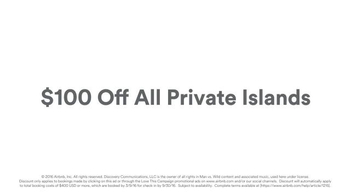 Airbnb TV Spot, 'Private Island' Featuring Bear Grylls - Thumbnail 6