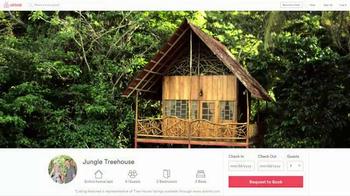 Airbnb TV Spot, 'Treehouse' - Thumbnail 6