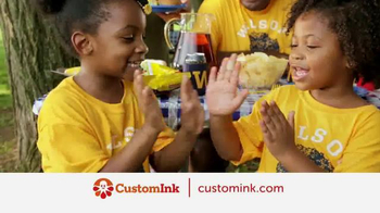 CustomInk TV Spot, 'Be Happy to Be Together' - Thumbnail 1