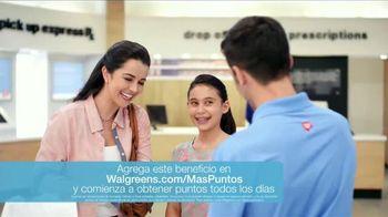 Shot B TV Spot, 'Walgreens puntos Balance Rewards' [Spanish]