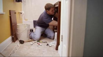 American Home Shield Home Warranty TV Spot, 'Plumbing Repairs' - Thumbnail 3
