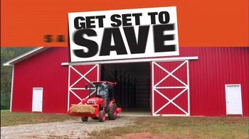 Kubota Get Set to Save Sales Event TV Spot, 'Kubota B Series' - Thumbnail 2