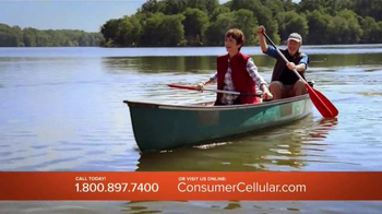 Consumer Cellular TV Spot, 'Bet: Cross Country: Plans $10+ a Month' - 605 commercial airings