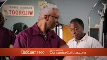 Consumer Cellular TV Spot, 'Bet: Cross Country: Plans $10+ a Month' - Thumbnail 4