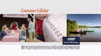 Consumer Cellular TV Spot, 'Bet: Cross Country: Plans $10+ a Month' - Thumbnail 5