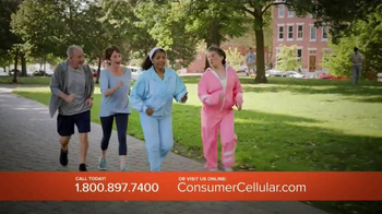 Consumer Cellular TV Spot, 'Bet: Cross Country: Plans $10+ a Month' - Thumbnail 6