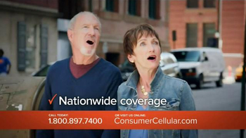 Consumer Cellular TV Spot, 'Bet: Cross Country: Plans $10+ a Month' - Thumbnail 7