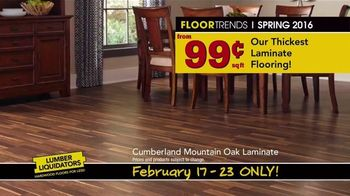 Lumber Liquidators TV Spot, 'Spring 2016 Flooring Trends' - Thumbnail 6