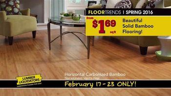 Lumber Liquidators TV Spot, 'Spring 2016 Flooring Trends' - Thumbnail 7