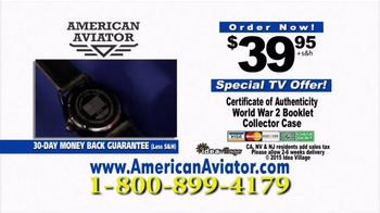American Aviator TV Spot, 'The WWII Watch' Featuring Rick Harrison - Thumbnail 7