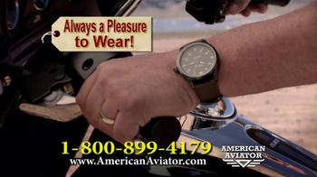 American Aviator TV Spot, 'The WWII Watch' Featuring Rick Harrison - Thumbnail 4