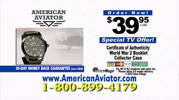 American Aviator TV Spot, 'The WWII Watch' Featuring Rick Harrison - Thumbnail 6