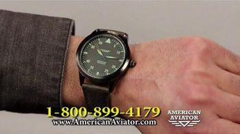 American Aviator TV Spot, 'The WWII Watch' Featuring Rick Harrison