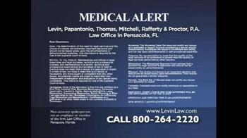 Levin Law TV Spot, 'Essure Medical Alert' - Thumbnail 4