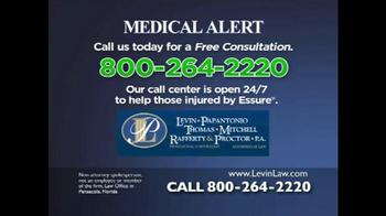 Levin Law TV Spot, 'Essure Medical Alert' - Thumbnail 3