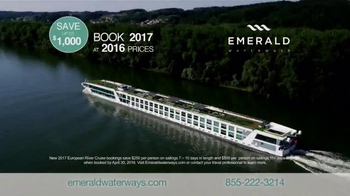 Emerald Waterways TV Spot, 'Book 2017 at 2016 Prices' - Thumbnail 9